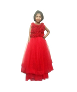 Tulle RED COLOR DRESS for girls - $63.99+