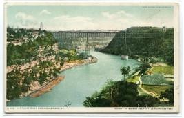 High Bridge Kentucky River KY 1910c Phostint postcard - $6.88