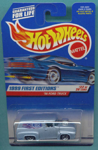 Hot Wheels 1999 First Edition 22/26 Collector # 927 '56 FORD