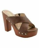 DBDK Fashion, Brown Queen Sandal, Sz 8.5 - $27.72