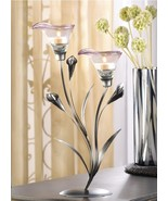"17 CALLA LILY CANDLE HOLDER WEDDING CENTERPIECES 15""  - $238.00"