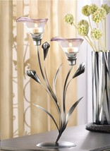 "30 CALLA LILY CANDLE HOLDER WEDDING CENTERPIECES 15"" TALL - €337,83 EUR"