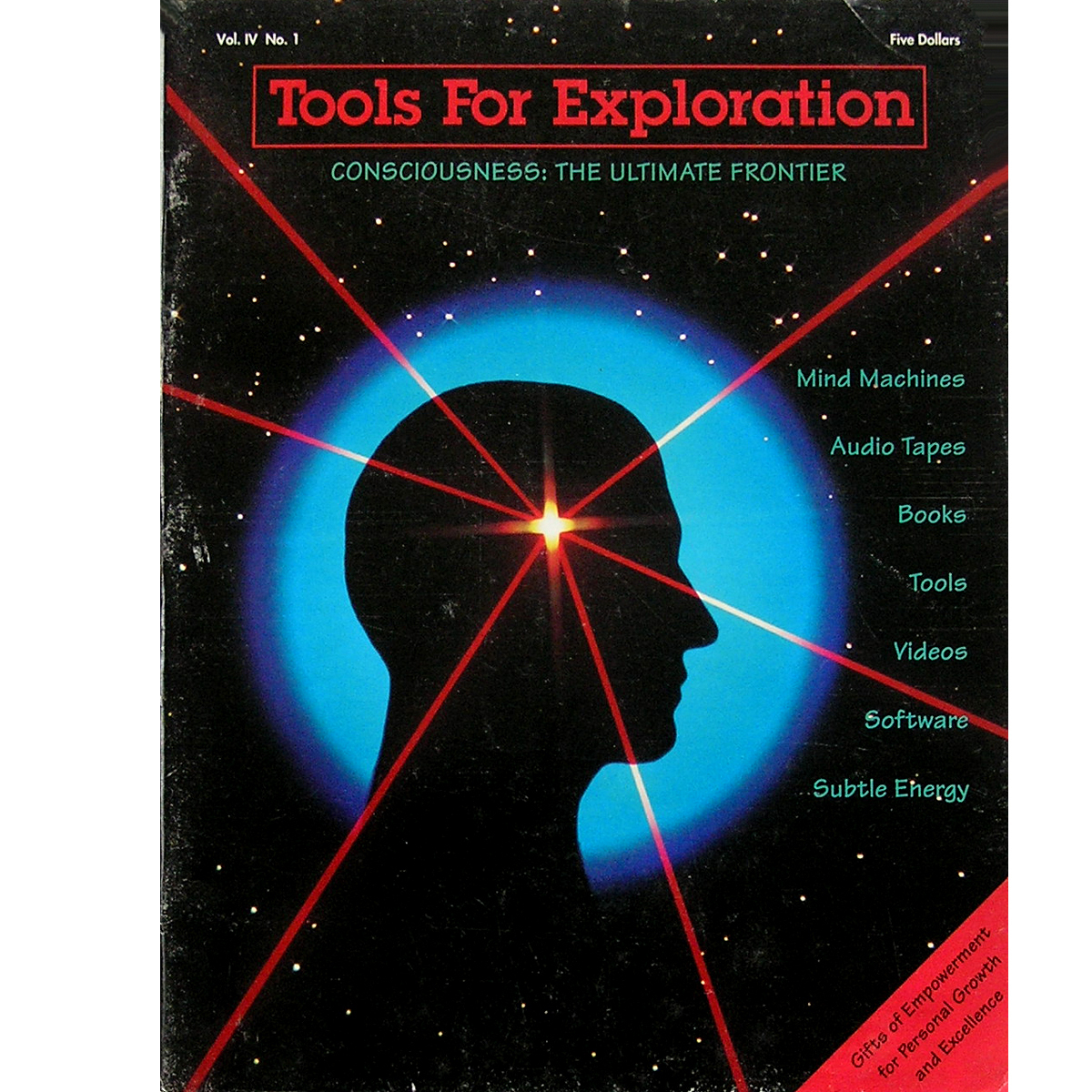 1992 Tools for Exploration Catalog Mind Machines Violet Wand