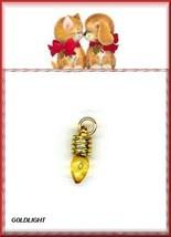 Hoilday  GOLD LITE  NaiL Art DANGLE Plus Bonus  Charm - $4.39