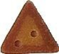 """Tarnished Gold Spike 3413 handmade clay button .25"""" JABC Just Another Bu... - $1.40"""