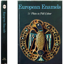 1969 European Enamels 71 Color Plates 6-18th Century - $6.00