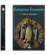 1969 European Enamels 71 Color Plates 6-18th Century - $6.00