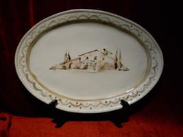 Arte Italica Villaggio 17 3/8 serving  platter - $74.20