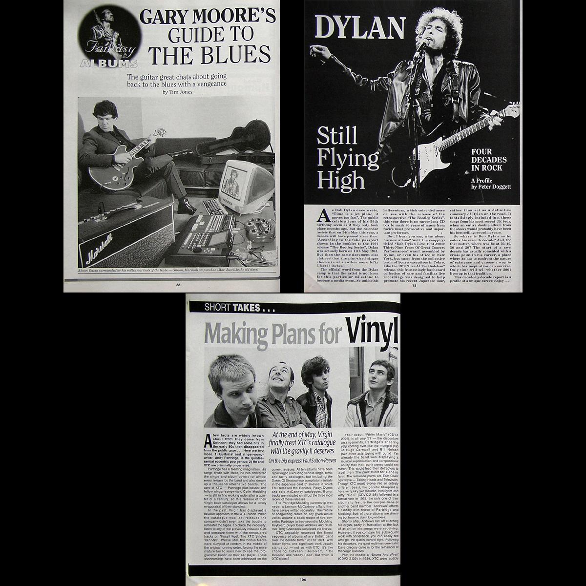 2001 RECORD COLLECTOR Paul McCartney Van Der Graaf Generator