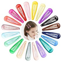 40 pcs Baby Color Snap Hair Clips with Candy Colors for Woman Baby Girl Snap Hai image 1