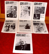 7 Sing Out 1980-1 Folk Song Magazine Music Instruments Singers Words - $25.00