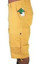 LRG MENS Young Bright Youth Ill Denim Kids Mustard Cargo Walk Shorts 34 38 42NWT image 2