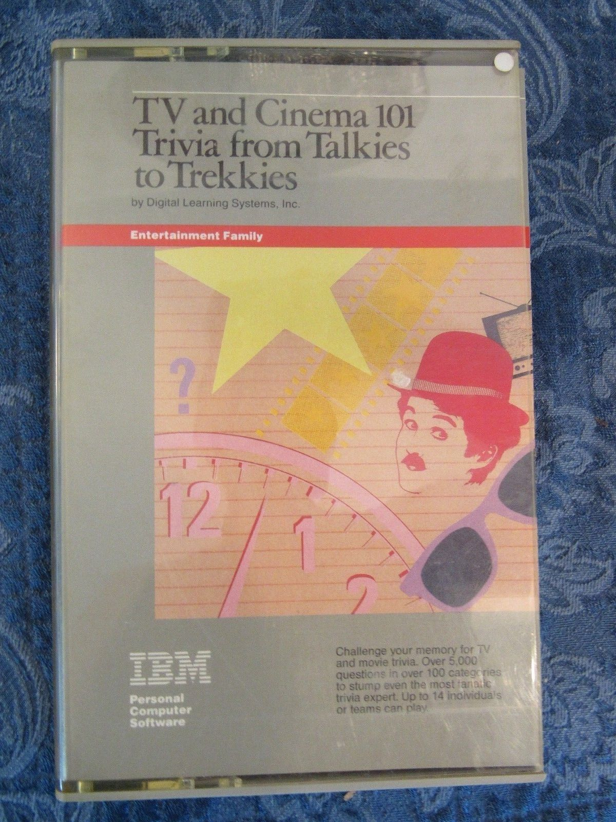 Vintage IBM Trivia Software TV Cinema Talkies to Trekkies