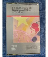 Vintage IBM Trivia Software TV Cinema Talkies to Trekkies - $19.87