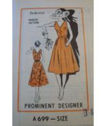 """Prominent Designer A669 """"Pedestal"""" Sundress Pattern - 14 - $7.99"""