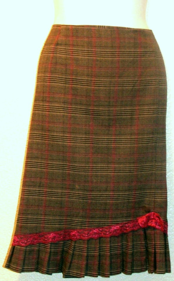 Plaid REQUIREMENTS Skirt