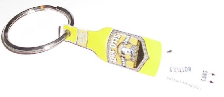 DOC OTIS' HARD LEMON bottle opener keyring key chain