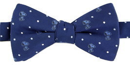 Snoopy Mens Bow Tie Adjustable Neck Pretied Peanuts Toon Dog Navy Blue N... - €26,49 EUR