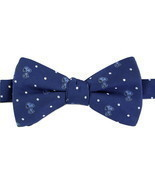Snoopy Mens Bow Tie Adjustable Neck Pretied Peanuts Toon Dog Navy Blue N... - £23.39 GBP