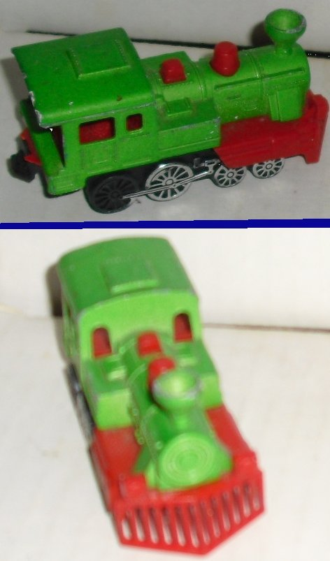 MAJORETTE 1/87 Toy Car WESTERN TRAIN #278 made  FRANCE