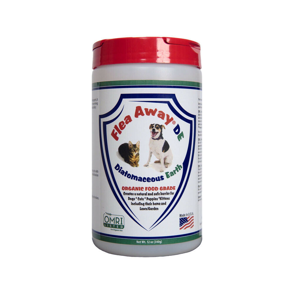 Primary image for FLEA AWAY DIATOMACEOUS EARTH DE ORGANIC DOG CAT AND HOME TREATMENT 12 oz