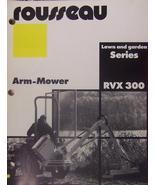 Rousseau RVX 300 Boom Mower Brochure - $5.00