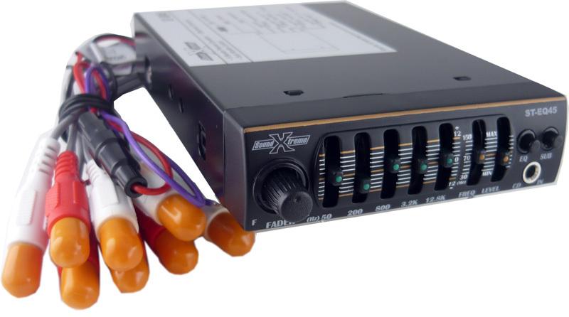 Car Audio Equalizer: SoundXtreme Mini 5 Band Car Audio Graphic Equalizer Sub