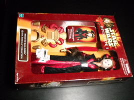 Hasbro Star Wars Ultimate Hair Queen Amidala 12 Inch 1998 Factory Sealed in Box - $14.99