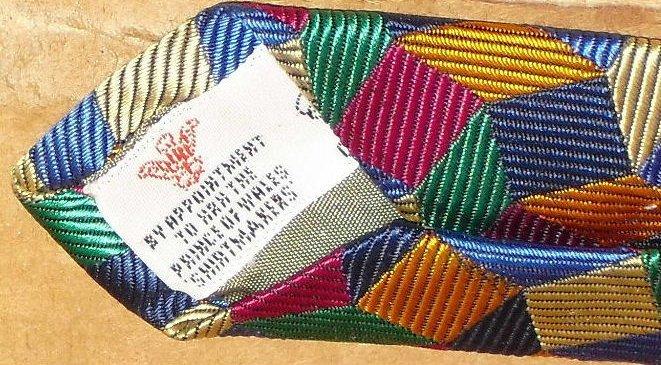 TURNBULL & ASSER colorful geometric Necktie Silk TIETURNBULL