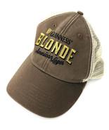 Guinness Blonde American Lager Brown Taupe Mesh Adjustable Back Baseball... - $24.74