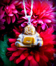 Hotei Buddha WISHES & GOOD LUCK Prosperity MONEY Harmony Happiness Spell... - $48.88
