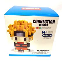 Uzumaki Naruto Shippuden Nanoblock Anime Bricks Lot Ninja Gear Toy Plast... - $16.82