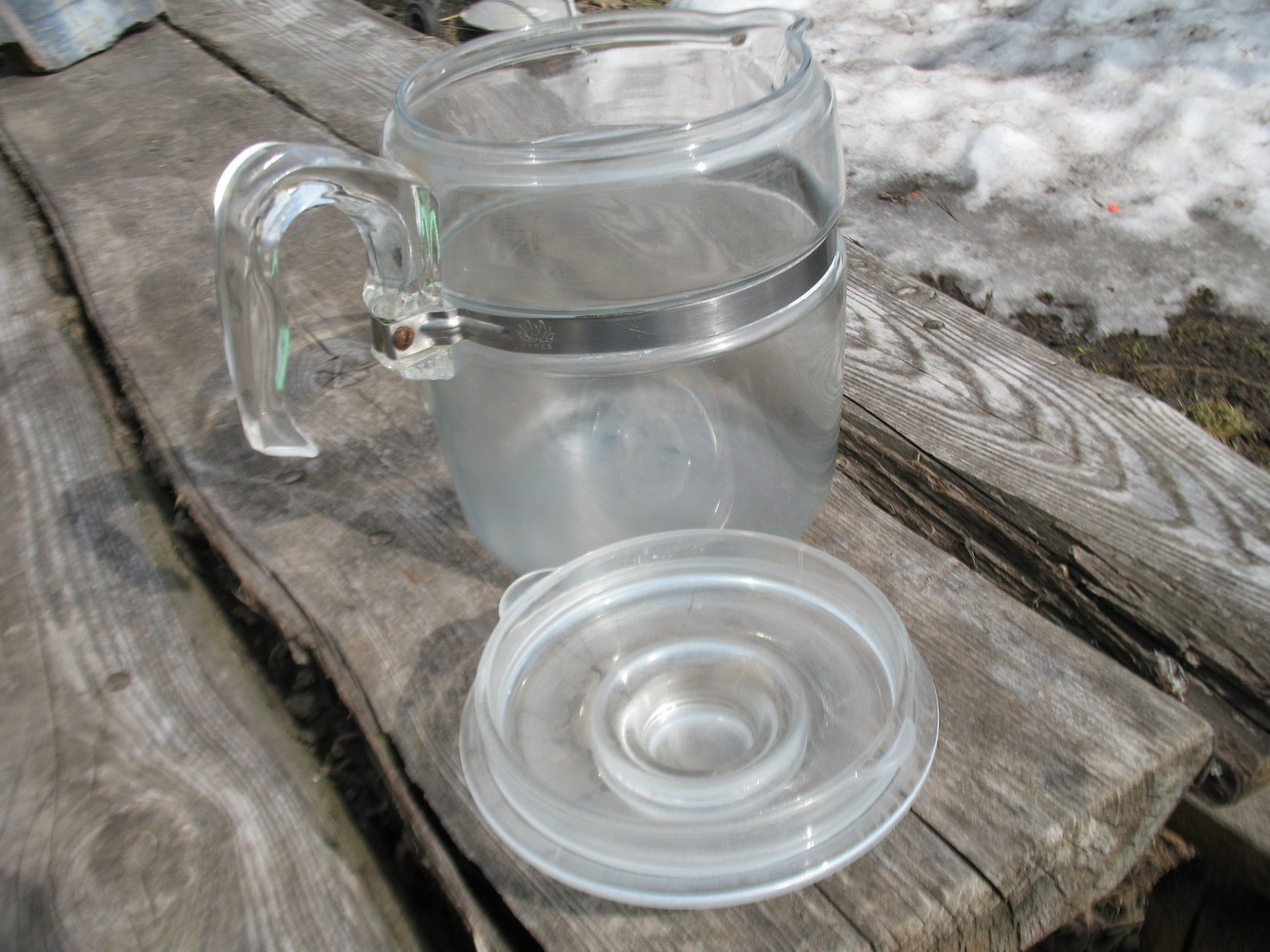 Vintage Pyrex glass nine cup coffee pot Replacement with ...