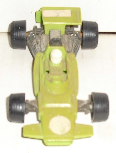 "Vtg FUNMATE Formula 1 plastic Race Car 4"" long, Japan"