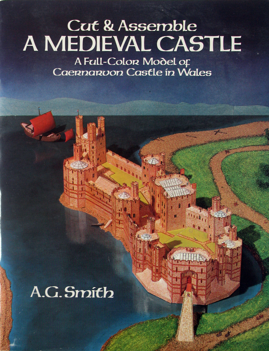 Cut & Assemble MEDIEVAL CASTLE Full Color