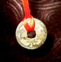 Powerful Antique MONEY Wealth GOOD LUCK Prosperity Spell Coin AMULET Haunted - $69.00