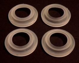 LOT OF 4 NEW KRONES 1-071-11-028-0 ELASTOMER SEAL RINGS, 1071110280