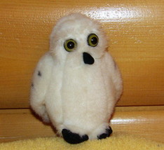 "K & M Audubon  Plush 6"" White Spotted Snowy Owl w/ Authentic Call Sound - $9.89"