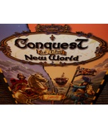 Interplay Conquest of the New World real time strategy war game pc cd - $10.00