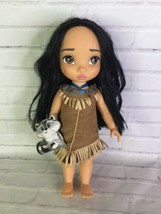 Disney Princess Pocahontas Animators Collection Toddler Doll With Meeko ... - $29.69