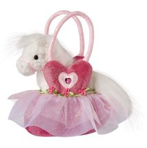 Douglas Pink Ballerina Bag with White Horse - $17.95
