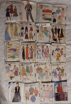 Lot of 79 Sewing Patterns - 1970's, 80's Butterick, McCall's, Simplicity... - $29.99