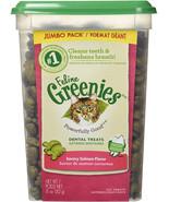 FELINE GREENIES Dental Treats For Cats Savory Salmon Flavor 11 Ounces - $9.99+