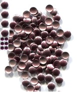 ROUND Smooth Nailheads 3mm Hot Fix Pink MAUVE 144 PC  1 gross - $3.49