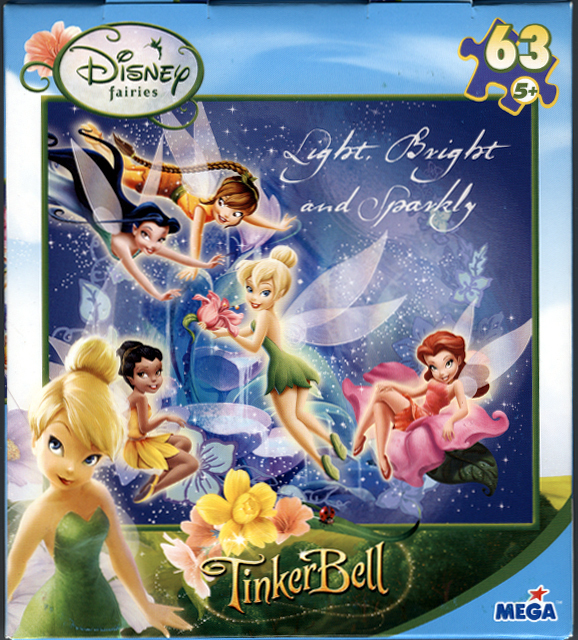 Pair of Tinkerbell and Friends Jigsaw Puzzles