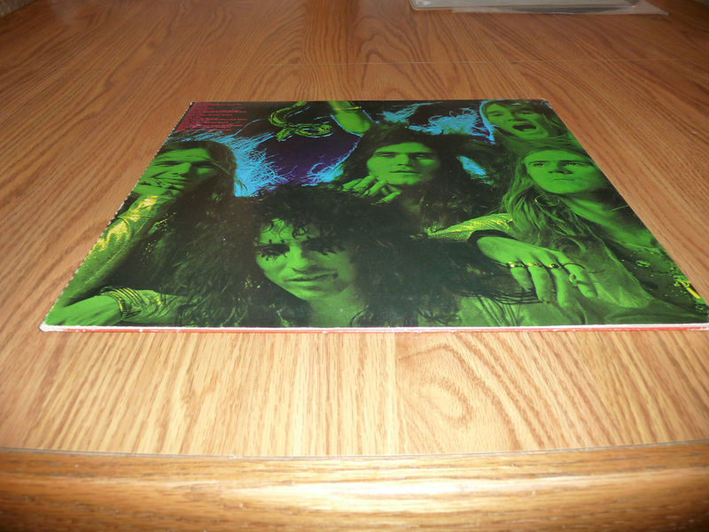 Alice Cooper Killer 1971 Wlp Promo With Attached Calender Detroit Punk
