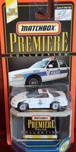 MATCHBOX Collectibles Premiere Police Collection Nebraska Camaro Pursuit - $10.95