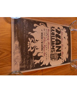 Hank Williams III Autographed Bloodline Gone Bad 2000 Tour Poster Hank III - $49.99