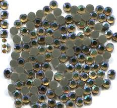 Rhinestones 10ss 3mm Crystals AB GOLD Hot Fix 1 gross - $4.99