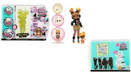 L.O.L. Surprise! O.M.G. Winter Chill Fashion Doll Bundle Missy Meow & Ba... - $54.44